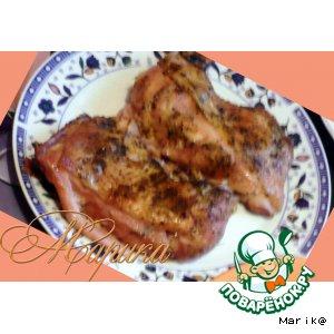 Рецепт: Курица в рукаве