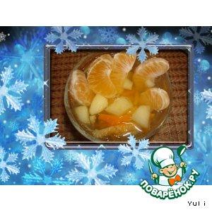 Рецепт: Мандариновый  компот