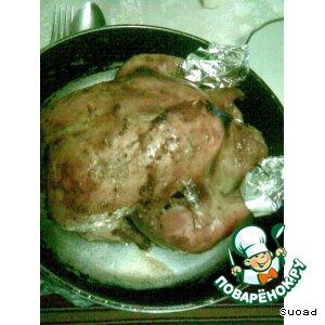 Рецепт: Рождественская курочка