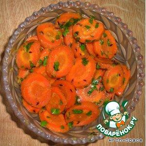 Рецепт: Морковь в медовой глазури по-индийски Гаджар Сабджи