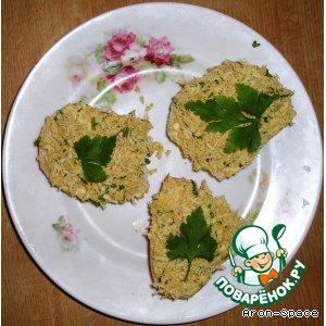 Рецепт: Бутерброды Солнечная поляна