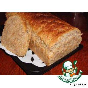 Рецепт: Хлеб с отрубями и тмином