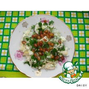 Рецепт: Салат с гранатовыми зернами