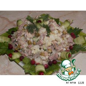 Рецепт: Салат Золотое руно