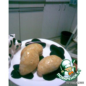 Рецепт: Мини-пирожки с капустой