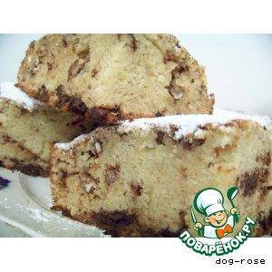 Рецепт Шоколадно-лимонный кекс со сливками