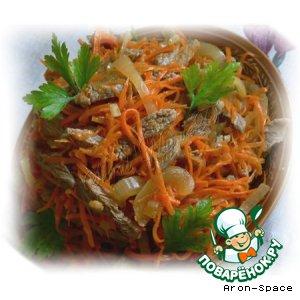 Рецепт: Корейское блюдо Хе из мяса