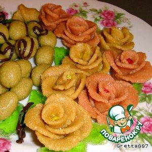 Рецепт: Марципан-чики домашние