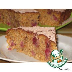 Рецепт: Пирог сухарный «Не пропадать добру»