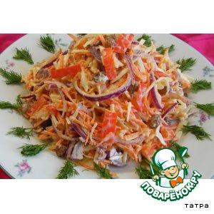 Рецепт: Салат Витаминкин