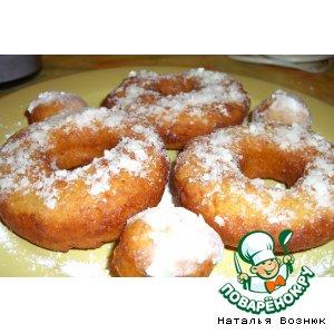 Рецепт: Воздушные пончики