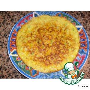 Рецепт: Кабачково-тыквенный тортик