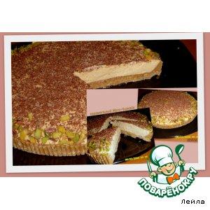 Рецепт: Карамельный чизкейк-мусс без выпечки