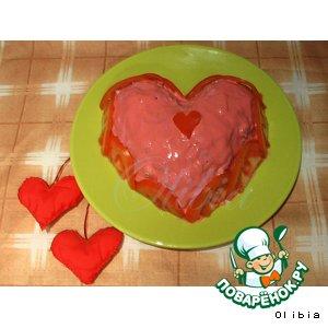 Салат Сердце Валентина