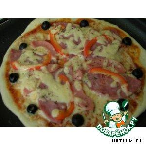 Рецепт: Итальянская пицца