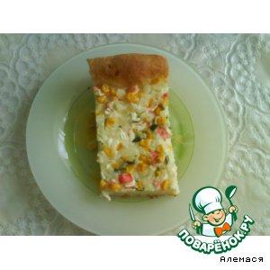 Открытый пирог – кулинарный рецепт