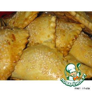 Рецепт: Треугольники с плавленным сыром