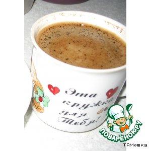 Рецепт: Кофе в микроволновке