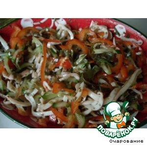 Рецепт: Салат здоровяка