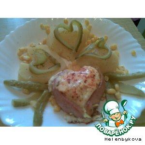 Рецепт: Завтрак в день Св. Валентина-2