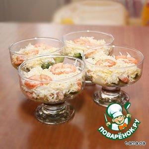 Рецепт: Нежный салат