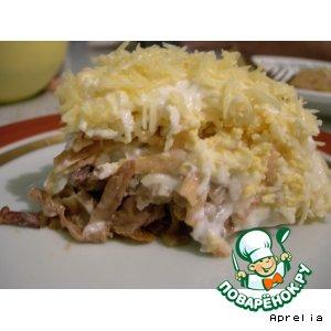 Рецепт: Салат грибной