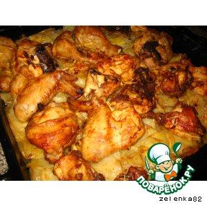 Рецепт: Курица