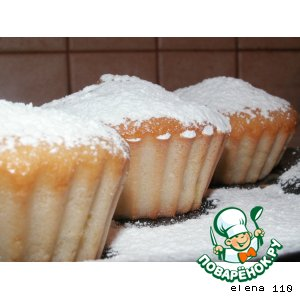 """Кексы """"Нежнее нежного"""" – кулинарный рецепт"""