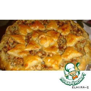 Рецепт: Пирог из индюшатины