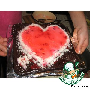 Тортик От сердца к сердцу