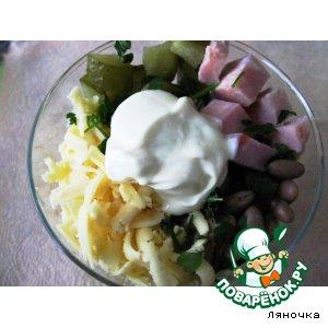 Рецепт: Салат Мексиканский от Ляночки