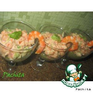 """Рецепт: Салат """"В морской пучине"""""""