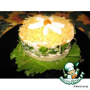 Рецепт: Салат Вкус лета