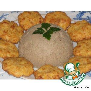 Рецепт: Закуска печеночная «Моя слабость»