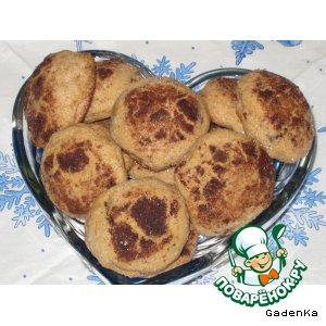 Рецепт: Печенье кофейное с ароматом шоколада