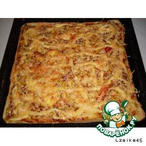 Рецепт: Пицца-пирог