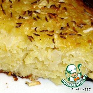 Рецепт: Пирог из капусты