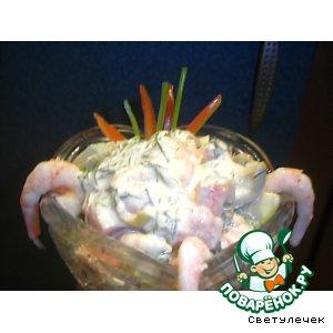Рецепт Креветочный салатик
