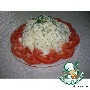 Рецепт: Салат Немецкий из капусты