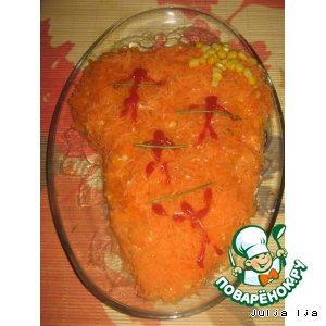 Рецепт: Салат Аfffрика