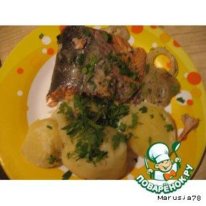 Рецепт: Рыба диетическая