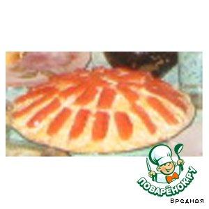 Рецепт: Салатик крабовый с красной рыбой