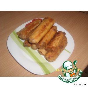 Рецепт: Рисовые блинчики по-вьетнамски
