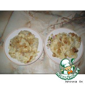 Рецепт: Вареники с квашеной капустой