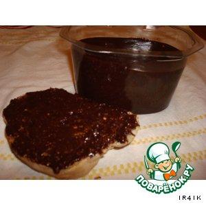 Рецепт: Шоколадная паста с фундуком