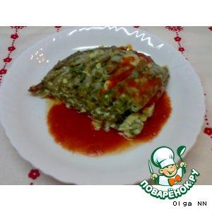 Рецепт: Запеканка из зеленой фасоли