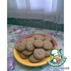 Рецепт: Песочные какао-печенья На здоровье!
