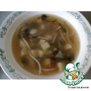 Рецепт: Суп грибной по-болгарски