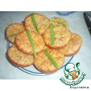 Рецепт: Сырные маффинчики или рулет