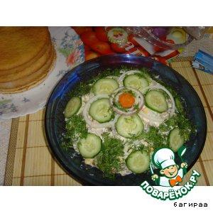 Рецепт: Салат Xорошее настроение